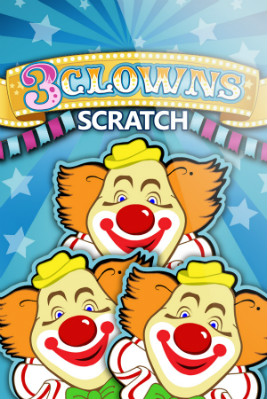 Play 3 Clowns Scratch Online at Casino.com Australia